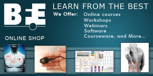 biofeedback, neurofeedback, BFE, shop, learning, education, webinars, online courses, videos, classes