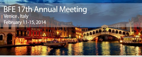 BFE Annual Meeting